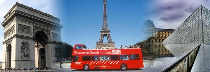 Paris tourist bus